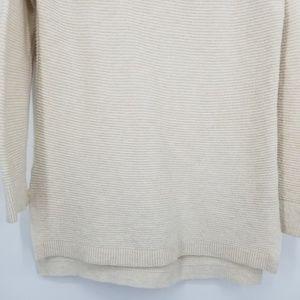 LOFT Sweaters - Loft Ribbed Cowl Neck Tunic Sweater